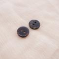 【丸型(シンプルデザイン)】ペン貝ボタン#bt040 2穴11.5mm