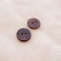 【丸型(シンプルデザイン)】ペン貝ボタン#bt040 2穴18mm
