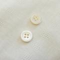 【厚みのあるボタン(3mm厚)】高瀬貝貝ボタン#00017 4穴10mm