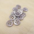 【丸型(染めボタン)】高瀬貝 貝ボタン#00017 4穴11.5mm C/#cassis