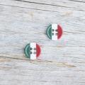 イタリア国旗ボタン