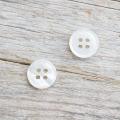 【白蝶貝ボタン(定番)】#BT014 4穴 13mm