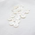 【厚みのある形(シャツ用 2.5mm厚)】白蝶貝ボタン#uramigaki25 4穴9mm&11.5mmセット TAKASHIMAオリジナルモデル【10%OFF】