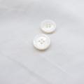 【厚みのある形(シャツ用 2.5mm厚)】白蝶貝ボタン#uramigaki25 4穴11.5mm TAKASHIMAオリジナルモデル