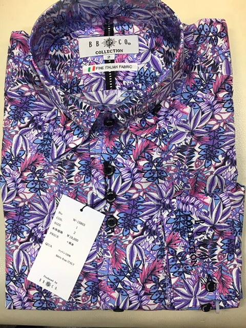 BBCO(ビビコ) シャツ W-15803 カラー1