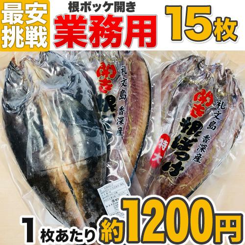 【業務用】特大開き根ボッケ 15枚