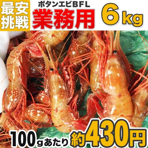 【業務用】 ボタンエビ BFL 6kg