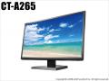 【CT-A265】IOデータ製 フルHD対応 21.5型ワイド カラー液晶モニタ(HDMI/VGA接続専用/LCD-MF226XDB)