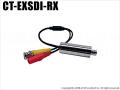 【CT-EXSDI-RX】 EX-SDIカメラ専用レシーバー (HD-SDI信号変換)