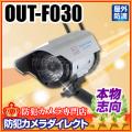 【OUT-F030】屋外防雨 ソーラー発電 ワイヤレス型ダミーカメラ(アウトレット)