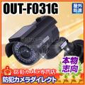 【OUT-F031G】屋内外OK 電源不要 ダミーカメラ(アウトレット)
