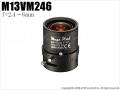 【M13VM246】タムロン製 メガピクセル対応バリフォーカルレンズ(f=2.4~6mm)