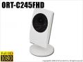 【ORT-C245FHD】スマホで見える・聞こえる・超広角・赤外線暗視・フルHD IPカメラ(アウトレット)