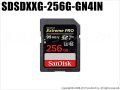 【SDSDXXG-256G-GN4IN】 サンディスク SDXCカード 256GB Extreme PRO Class10 UHS-I対応