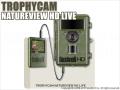 【トロフィーカムネイチャービューHDライブ】 乾電池対応 屋外センサー暗視カメラ SDカード自動録画