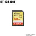 【CT-128-C10】SanDisk SDXCカード 128GB Class10