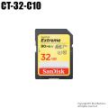 【CT-32-C10】SanDisk SDHCカード 32GB Class10