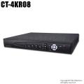 【CT-4KR08】H.265 4K解像度対応 AHD/HD-TVI/CVBS 8chデジタルレコーダー(HDD1~12TB選択)