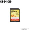 【CT-64-C10】SanDisk SDXCカード 64GB Class10