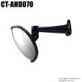 【CT-AHD070】210万画素 オーバル防犯ミラー型AHDカメラ(f=3.6mm)