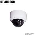【CT-AHD960】522万画素  防雨 赤外線暗視 AHD/TVI/CVI/CVBS 4in1 電動ズームドームカメラ(f=2.8~12mm)
