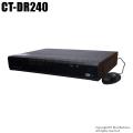 【CT-DR240】5MP対応 AHD/HD-TVI/CVBS 4chデジタルレコーダー(HDD1~4TB選択)