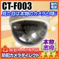 【CT-F003】ドーム型ダミーカメラ(本物志向・レンズ付き)