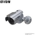 【CT-F031V】屋内外OK 電源不要 ソーラー発電 充電池付きダミーカメラ