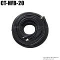 【CT-HFB-20】防犯カメラ・監視カメラ用 映像電源ケーブル(BNC 20m)