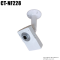 【CT-NF228】屋内用 ネットワークカメラ型ダミーカメラ(LED点灯)