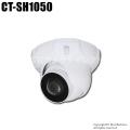 【CT-SH1050】222万画素 防雨 広角撮影180°パノラマAHDカメラ(f=1.38mm)