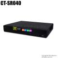 【CT-SR040】H.265 フルHD対応 AHD/HD-TVI/CVBS 4chデジタルレコーダー(HDD1~4TB選択)