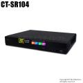 【CT-SR104】H.265 4MP・5MP対応 AHD/HD-TVI/CVBS 4chデジタルレコーダー(HDD1~4TB選択)