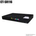 【CT-SR116】H.265+ 4MP・5MP対応 AHD/HD-TVI/CVBS 16chデジタルレコーダー(HDD1~8TB選択)