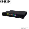 【CT-SR204】H.265+ 4MP・5MP対応 AHD/HD-TVI/CVBS 4chデジタルレコーダー(HDD1~6TB選択)