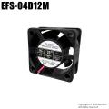 【EFS-04D12M】40mm 4センチ角 厚さ20mm 冷却ファン クーリングファン ケースファン DC12V