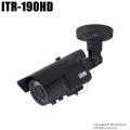 【ITR-190HD】SDカード録画機能内蔵 130万画素 防雨・暗視カメラ (f=2.8~12mm)