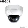 【ORT-C124】41万画素 屋外・屋内両用防破壊PTZカメラ(MAX192倍ズーム f=3.94~46.05mm)