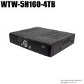 【WTW-5H160-4TB】 ネットワーク機能搭載  HD-SDI  16ch デジタルレコーダー (HDD 4TB/音声非対応)