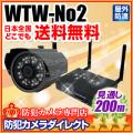 【WTW-No2】100万画素 デジタル無線カメラセット(WTW-No.2)[返品不可]