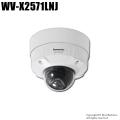 【WV-X2571LNJ】Panasonic AI 屋外4Kドームタイプ (代引不可・返品不可)
