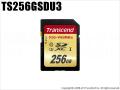 【TS256GSDU3】 トランセンド 256GBSDHCカード Class 10 UHS-I U3 最大95MB/s