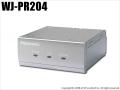 【WJ-PR204】Panasonic PoE給電機能付 同軸-LANコンバーター(4チャンネル)(代引不可・返品不可)