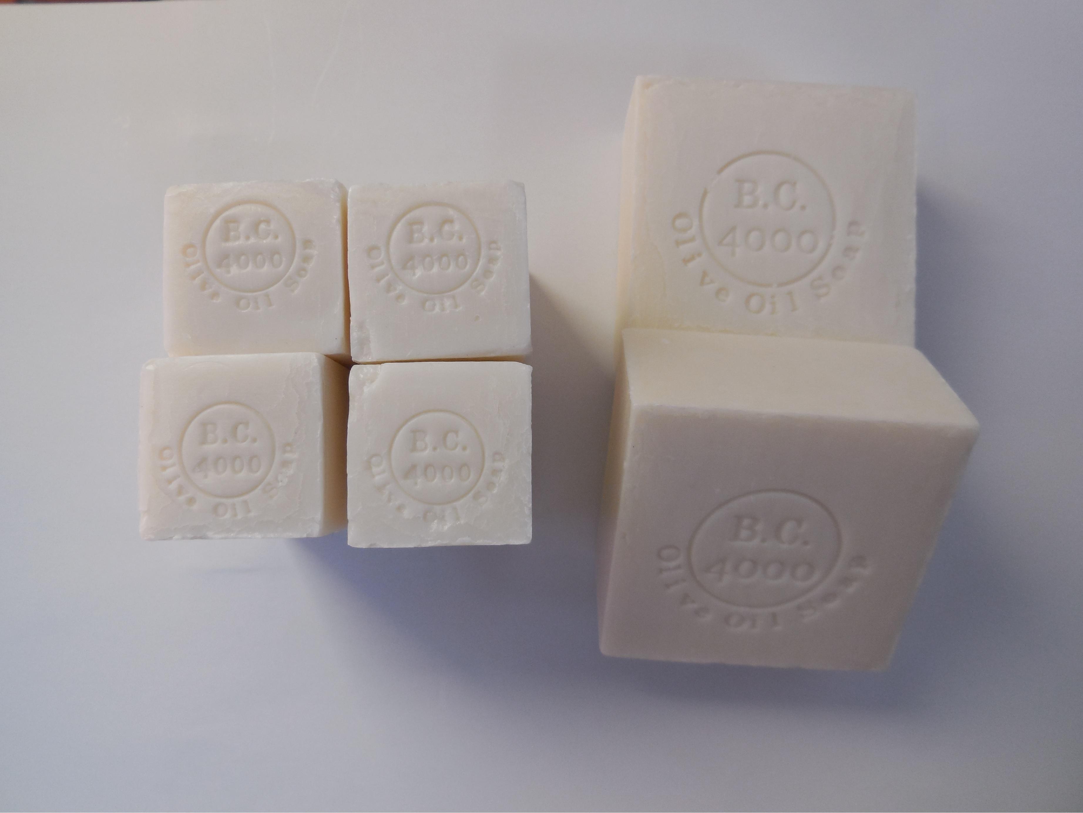 【定期購入】100%バージンオリーブオイル石鹸 100g×2 + 50g×4 送料無料