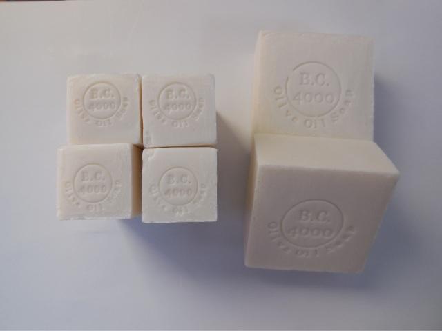 【定期購入】100%バージンオリーブオイル石鹸100g×2+50g×4 送料無料