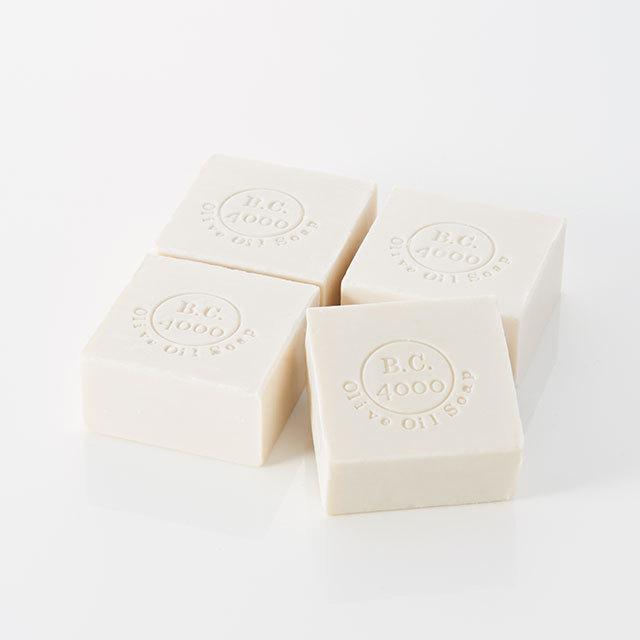 B.C.4000 100%バージンオリーブオイル石鹸