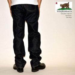 "TCB jeans ""S40's Jeans"" 40's ストレート 大戦モデル [ワイドストレート] [ライトオンス] [ヴィンテージ系色落ち]"