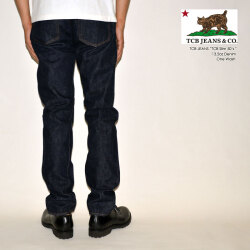 """TCB jeans """"TCB 50's Slim"""" 50's スリムストレート [タイトストレート]  [ライトオンス] [ヴィンテージ系色落ち]"""