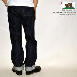 "TCB jeans ""Two Cat's Waist Overall"" 10.7oz ツーキャッツウエストオーバーオール [ワイドストレート] [ライトオンス] [ヴィンテージ系色落ち]"