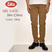"UES ウエス、""C410""、スリムチノ [OTHER PANTS]"